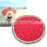 water melon Printed Round beach towel with tassel