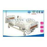 Head / Foot Board Medical Hospital Beds Electric / Manual With X-Ray Center Control Lock