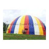 Mixed Color Large Dome Tent 39 Meters Geodesic Structure For Green House