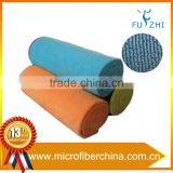 Wholesale 24x72'' Custom Non-slip Antimicrobial Microfiber Hot Yoga Mat Towel Fabric