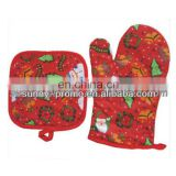 Customized Promotional Cotton Oven Gloves