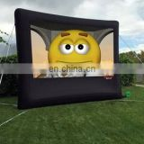 2017 Hot sale inflatable movie screen, inflatable rear projection screen for Outdoor cinema