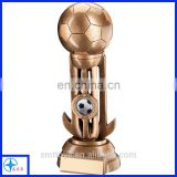 football trophy bronze painting trophy resin figure