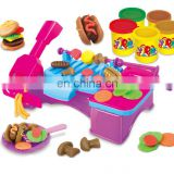 Funny color eco-friendly play dough toy set with EN71