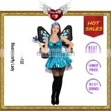 Costume Product Type and OEM Service Supply Type Blue Butterfly Minion Mascot Costume