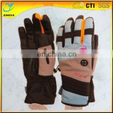 Custom Logo Band Good Quality Full Finger Ski Gloves