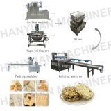 factory rice candy ball production line rice candy bar processing line
