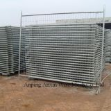 Construction Coated Welded Wire Fence Powder Coated Wire Mesh Fence
