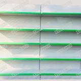 Gondola Shelving with Perforated and Plain Back Panel