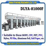 High Speed Computerized Automatic Rotogravure Printing Machine (DLYA-81000F)