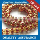 CN00402 Fashion design cup chain trimming, sew-on cup chain trimming, wholesale metal cup chain trimming