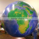 huge inflatable printing earth balloon inflatable helium globe ball balloon inflating floating balloon