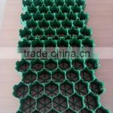 high stngth grass grid of hdpe/plastic material for horse paddock /car parking lot /space
