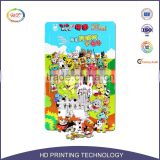 Funny promotional educational slide puzzle, jigsaw puzzle,puzzle game