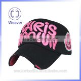China Funny Hats For Sale / Custom Logo Embroidery 5 Panel Fitted Short Brim Baseball Cap For Outdoor Sports