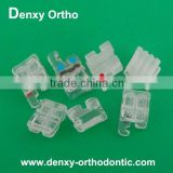 dental orthodontic materials OEM A class quality ceramic bracket