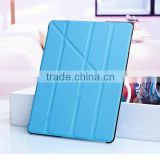 Hot New Promotional 4 Shapes Stand Design Magnetic PU Leather Crash-Proof Protective Case Cover for Ipad 2 3 4                                                                         Quality Choice                                                     Most