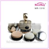Cheap price wholeasales mini natural electric powder puff for covering the shortage of the skin