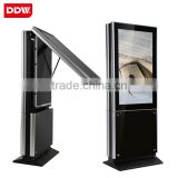 Dual Screen Kiosk all in one pc 55Inch Double Sided LCD Vertical Display Advertising Monitor