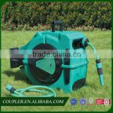180 degree swivel retractable water hose reel