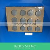 Silicon Carbide Ballistic Ceramic Plates For Armor /INNOVACERA