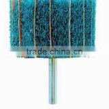 3m Non-Woven Interleafed Cloth Abrasive Grinding Flap Brush with Shaft for Metal