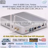 Mini Nettop PC I5 Core DX 11 3D Blue-ray 4K HD Support Gigabit Networking Max 16G RAM WIFI 4GB DDR3L 500G HDD HTPC