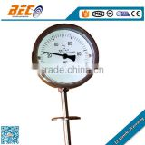 (WSS-411) 100mm all sus with sanitary equipment waterproof protection industrial oven gas thermometer