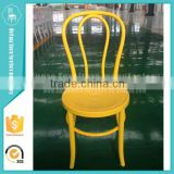 Plastic bright colored banquet thonet chair