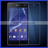 High Quality Factory Prices Transparent Tempered Glass Screen Protector for Sony Xperia Z2,Mobile Phone