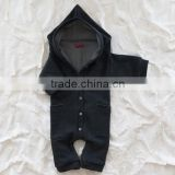 Wholesale Cotton baby rompers sleeveless baby bodysuits for baby girls