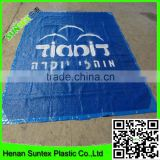 waterproof blue printing shade mesh,car protection sun shade sail, swimming pool cover mesh