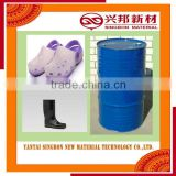 Polyester polyol and isocyanate for footwear sole in China