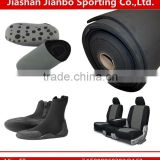 Thick rubber sheet shoe sole fabric