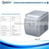 Energy saving stylish appearance Easy-cleaning Safe CE Microcomputer-controlled system nugget ice machine