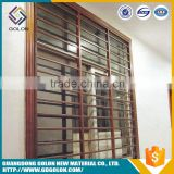 Customized Decoration steel door window insert