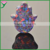 wholesale black loose mexican fire hamsa opal gemstone, price of opal