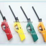 JZDD-26 refillable kitchen lighter with lamp & hook/ gas stove lighter/ piezo igniter/ bbq lighter