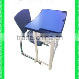school furniture children's modern cheap school desk with bench HXZY034