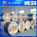Manufacturer direct sale pc strand steel wire galvanized with astm wire classification standard