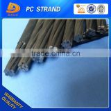 steel wire strand Indented PC Strand