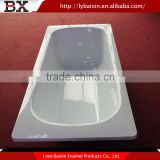 High cost performance deep steel bathtub,enamelled steel bath,cheap enameled steel bathtub