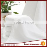 Wholesale soft cheap custom100% cotton terry plain white hotel hand towel in bulk