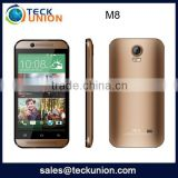 M8 4.5inch new slim mobile handphone android cheapest china unlocked cellphone