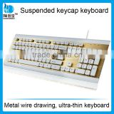 New style high quality suspended buttons mechanical keyboard