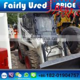 Low price Used skid loader of Bobcat S130 skid loader earth-moving machinery used skid loader for sale