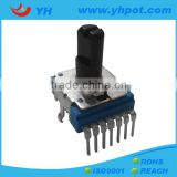 jiangsu 14mm volume control rotary 200k ohm joystick potentiometer without switch