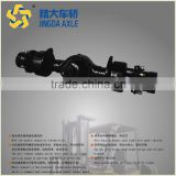 earth moving machinery wet disc brakes axles for underground mining dump truck axle 3t 5-8 ton caliper disk trailing shoe brake