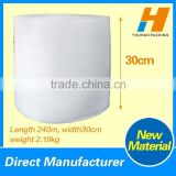 Wide 30cm HDPE Air Bubble Plastic Film Roll For Protective                                                                         Quality Choice