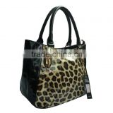 New Fashion Wholesale Designer Handbags / Wild Ladies Shoulder Bag / Leopard handled bag for women